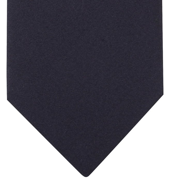 Boss Dark Blue Silk Tie