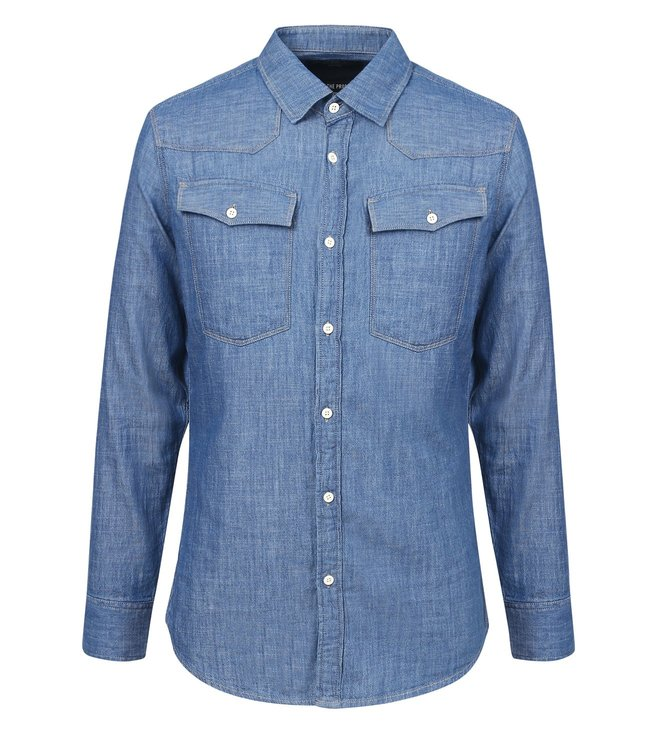G-Star RAW 3301 Blue Shirt