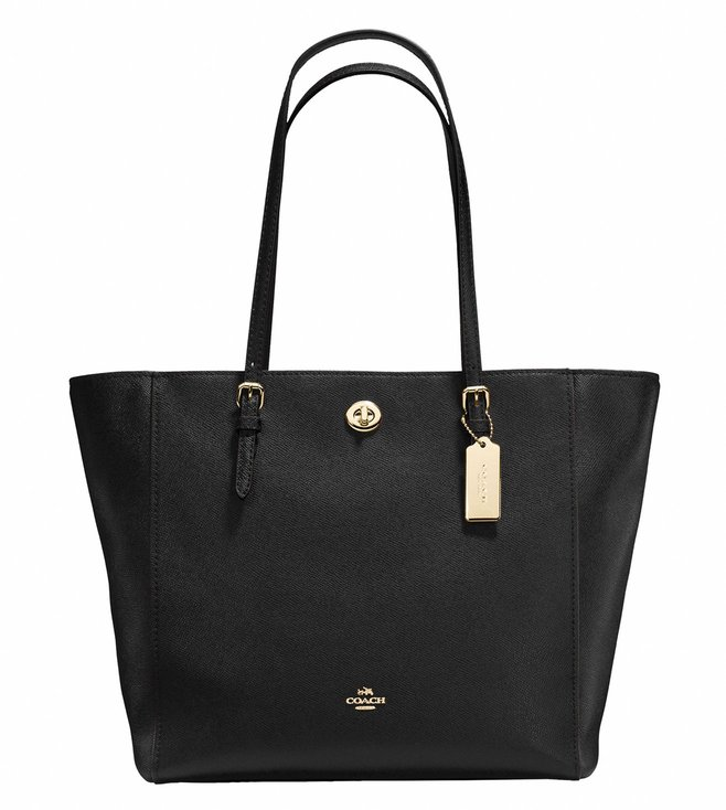 Coach Black Turnlock Totes