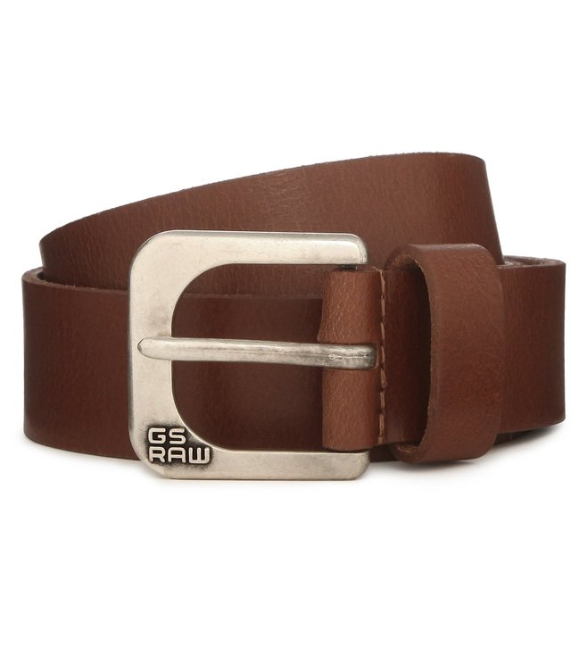 G-Star RAW Zed Cognac Belt