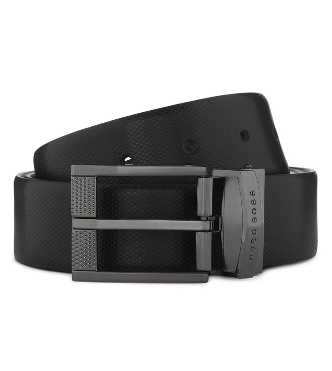 Boss Black Reversible Belt 'Olsen-CN'