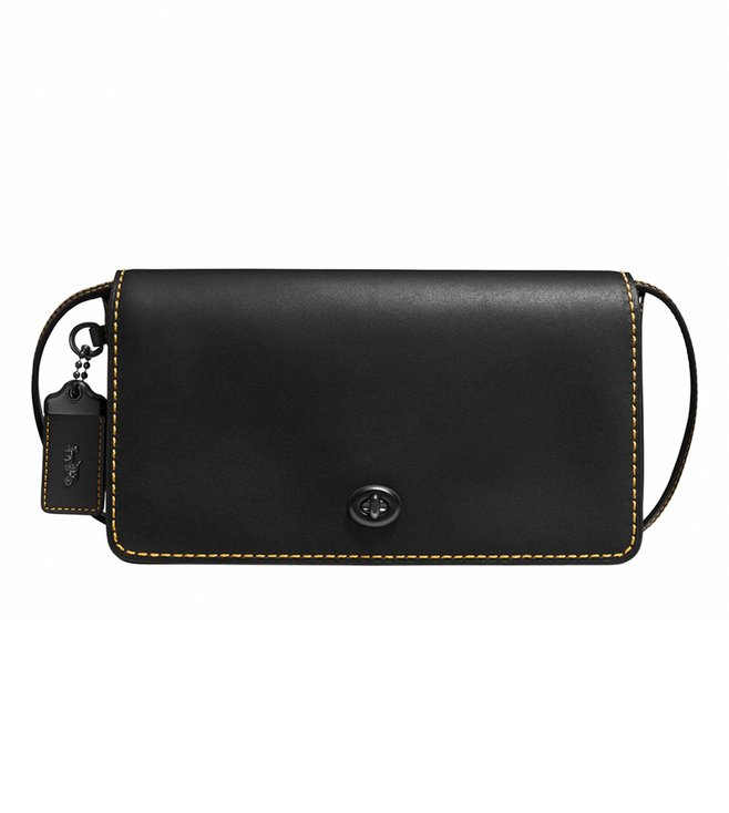 Buy Coach 1941 Dinky Black Honey Crossbody Bag for Women Online ... 6a5a5b57d5d7c