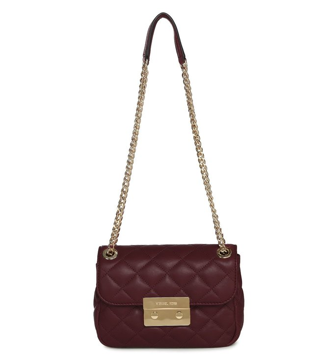 Michael Michael Kors Cherry Sloan Small Shoulder Bag