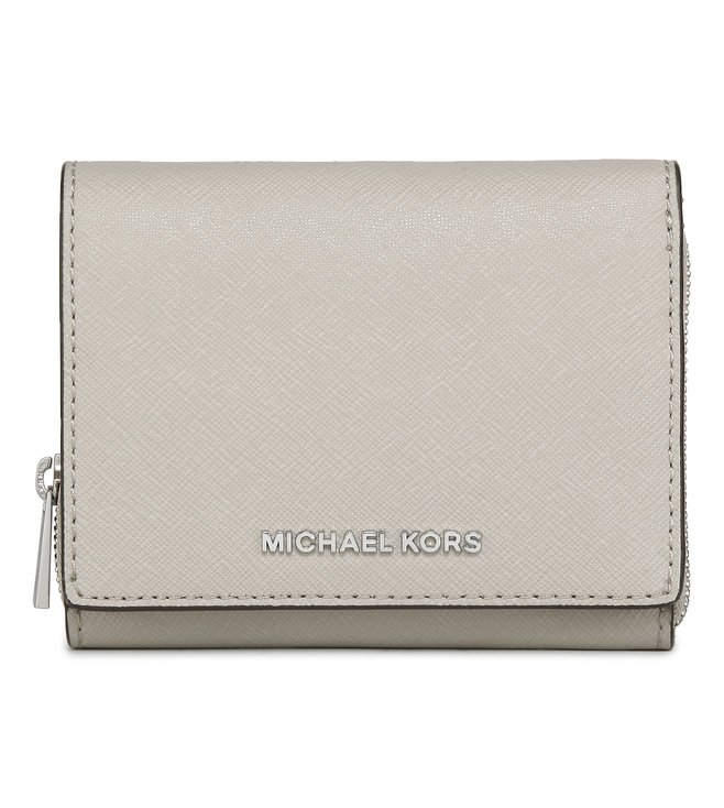 743990985d36 Added to Bag. Michael Michael Kors Cement Jet Set Travel Small Wallet