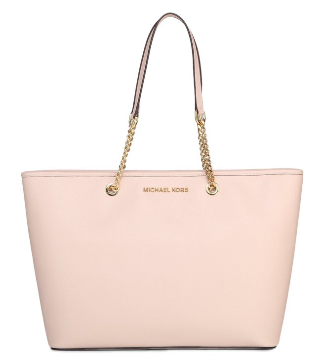 Added to Bag. Michael Michael Kors Jet Set Travl Chain Soft Pink Tote 84c8975438d87