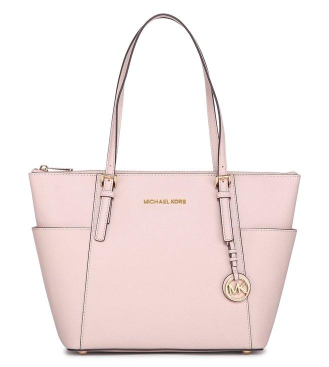 2f43e72863364 Buy Michael Michael Kors Jet Set Item Soft Pink Tote Bag for Women ...