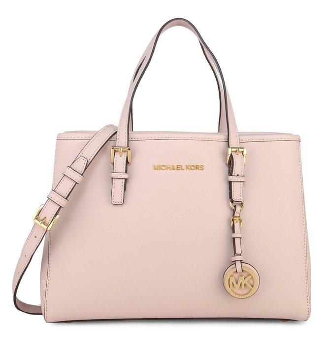 f74a9c83b850 Added to Bag. Michael Michael Kors Jet Set Travel Soft Pink Medium Tote