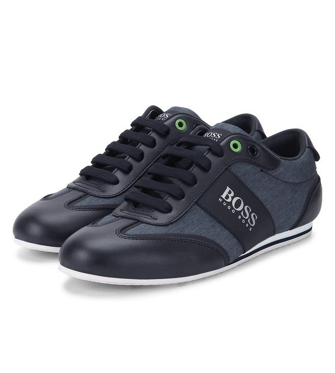 Boss Dark Blue Sneakers 'Lighter Lowp Nych'