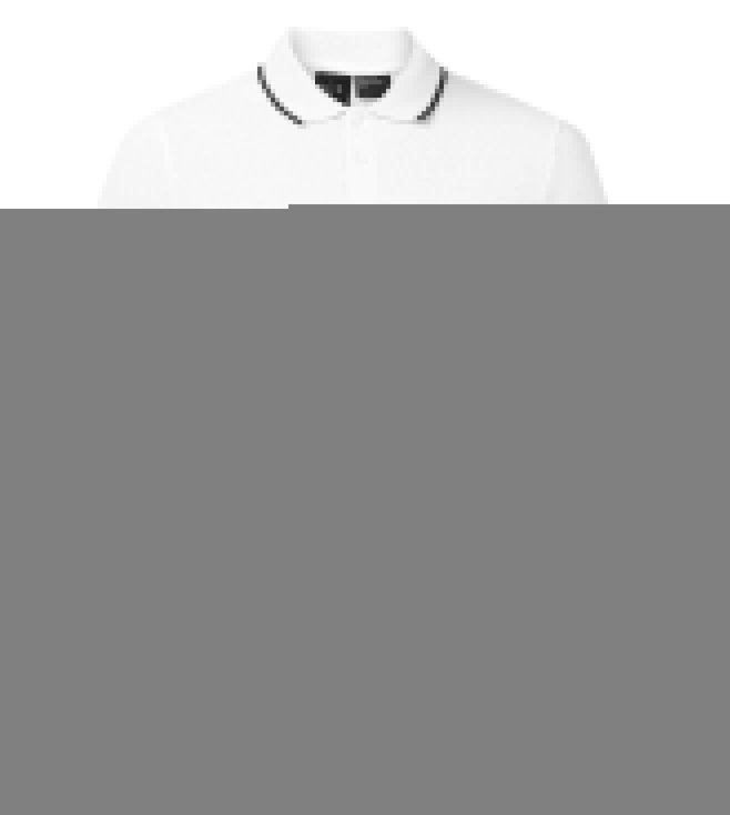 23e73b39 Buy Armani Exchange White Solid Polo T-Shirt for Men Online @ Tata ...