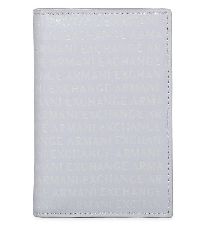 Buy Armani Exchange Laser Logo Folding Leather Cardcase for Men ... 709d0bd2943ce