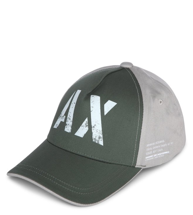 82618a126d4e1 Buy Armani Exchange Thyme 3D AX Logo Cap for Men Online   Tata CLiQ ...