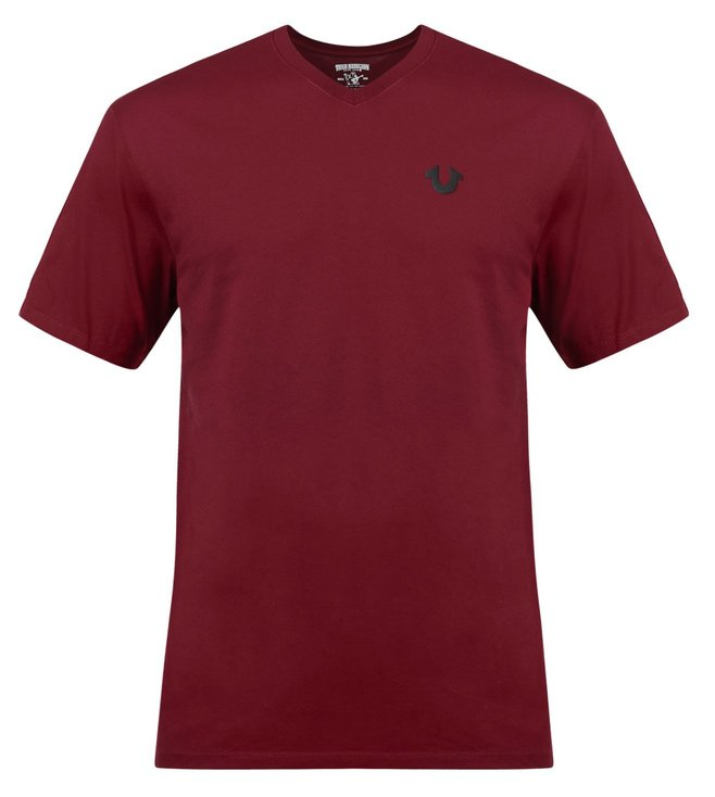 True Religion Classic Horseshoe Ox Blood T-Shirt