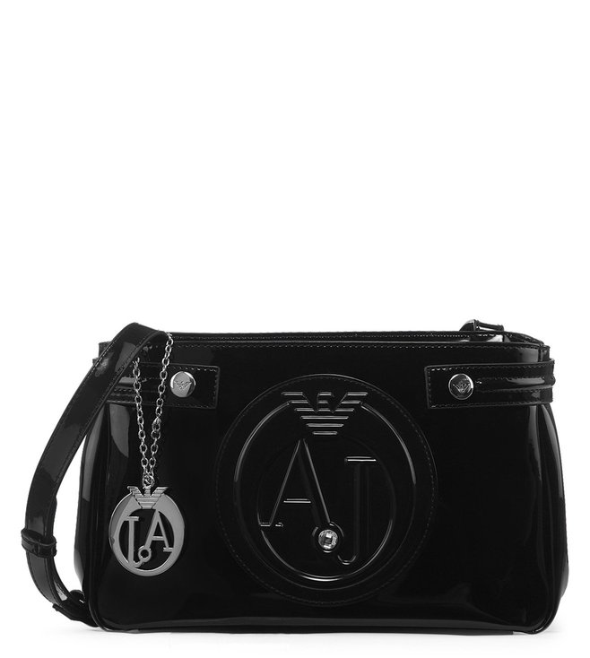 9e32763db7c0 Buy Armani Jeans Nero Logo Small Crossbody Bag for Women Online ...