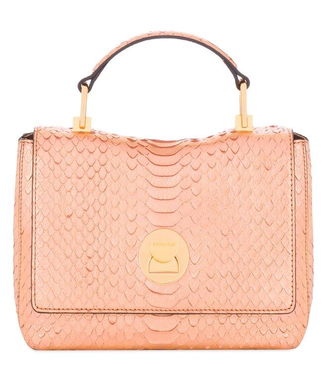 ef004e9f04f Buy Coccinelle Pink Gold Mini Crossbody Bag for Women Online   Tata ...