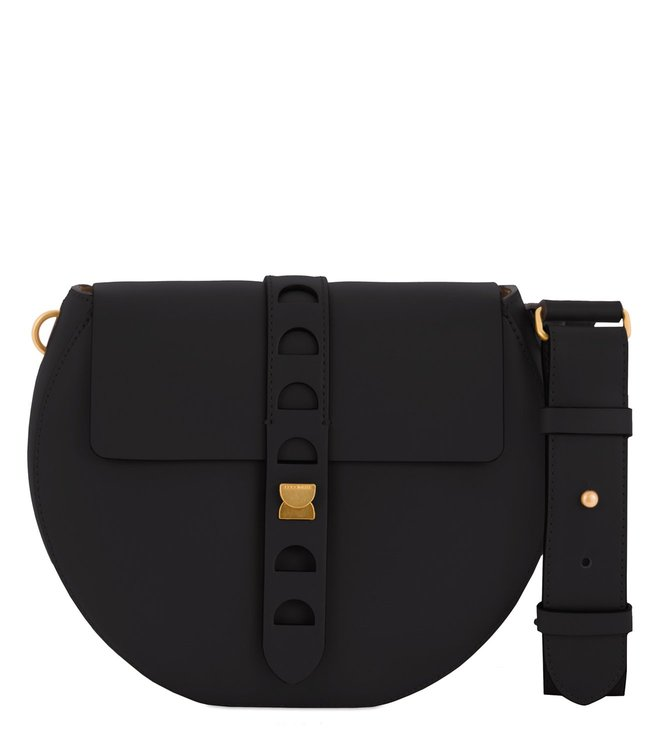 Coccinelle Carousel Nero Crossbody Bag
