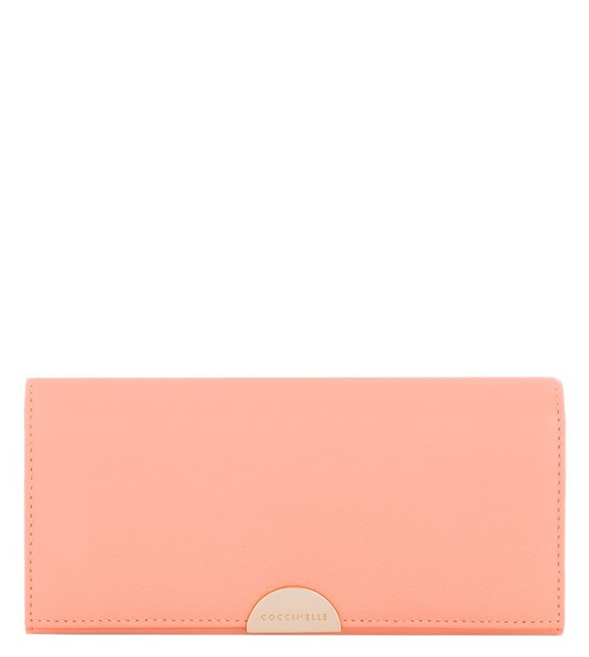 Coccinelle Half Pompelmo Leather Wallet