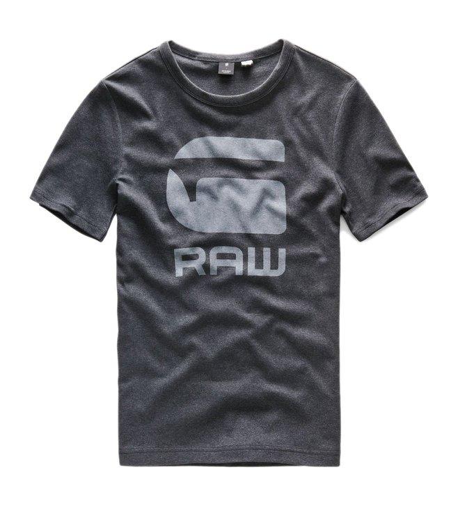19d609576a46 Buy G-Star Raw Black Htr Drillon Slim T Shirt for Men Online   Tata ...