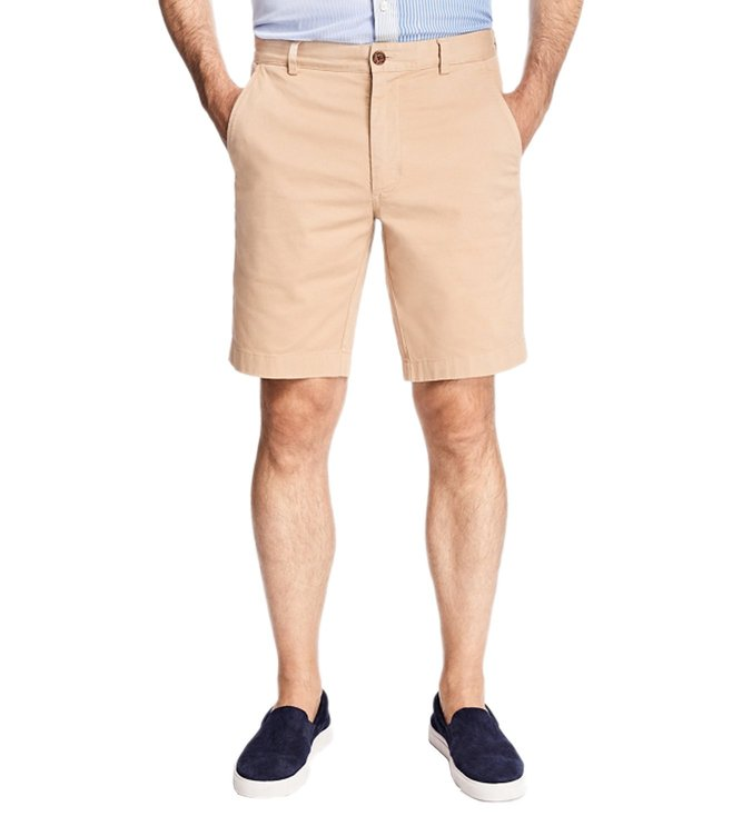 Brooks Brothers Red Fleece Khaki Stretch Cotton Twill Shorts