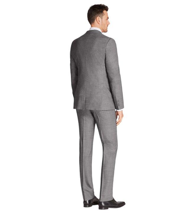 cffefde28d ... Men Formal Suits; Brooks Brothers Grey Neat Regent Fit 1818 Suit. ×.  Previous. Next