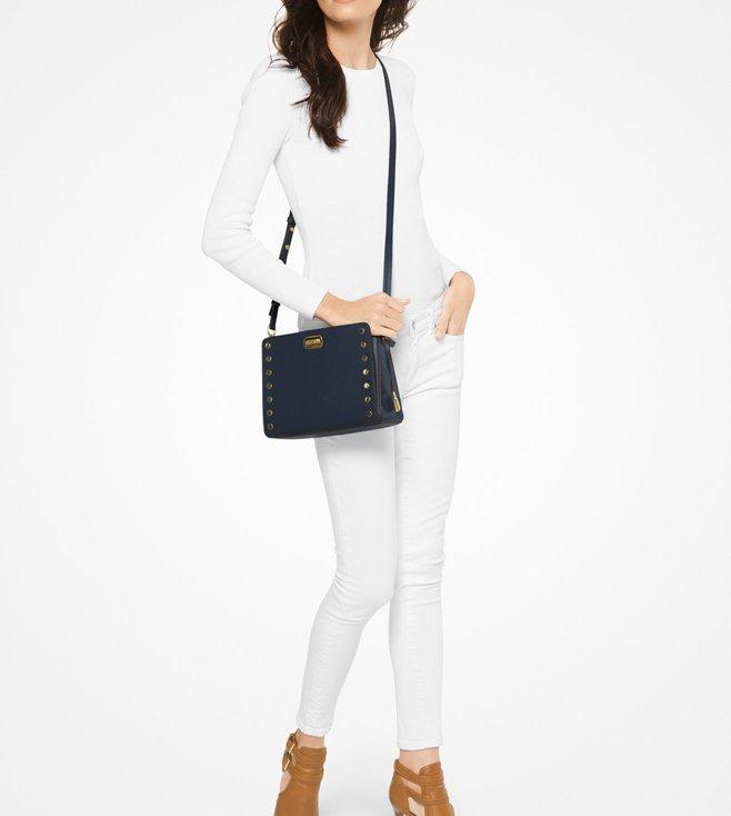 ddda6f744c4d Buy Michael Michael Kors Sylvie Stud Admiral Crossbody Bag For Women ...