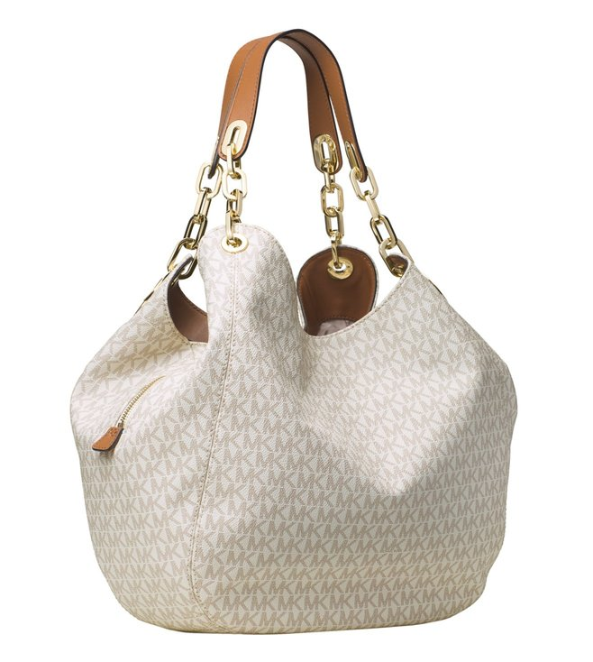 0675cdb831b6 Buy Michael Michael Kors Fulton Vanilla Large Shoulder Bag for Women ...