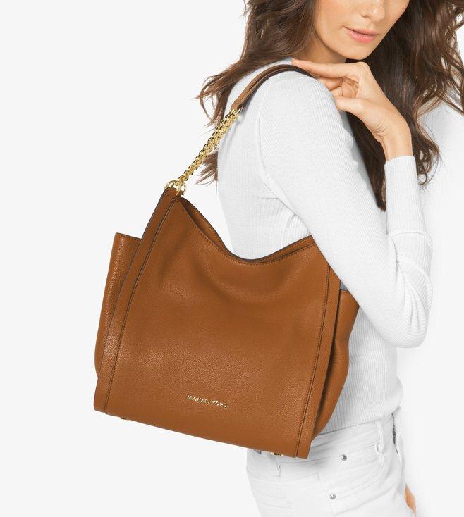 581b420f0b Buy Michael Michael Kors Newbury Acorn Medium Chain Shoulder Bag for ...
