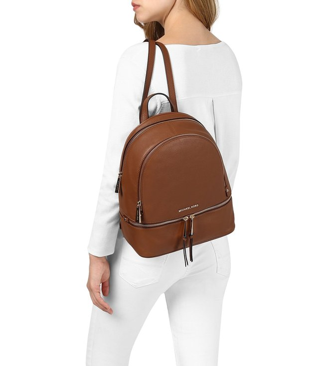 ae8346a07f66 ... brown michael michael kors rhea zip md backpack c985a 47549 where to  buy michael michael kors rhea zip luggage medium backpack 9536d c7d52 ...
