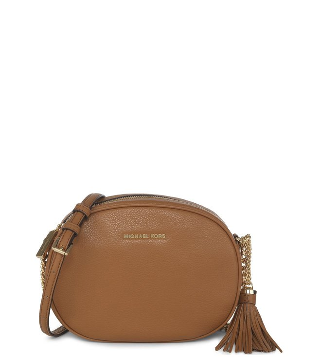 7cc8ac588f25 Buy Michael Michael Kors Ginny Acorn Small Crossbody Bag For Women ...