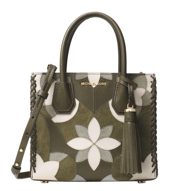 761c7a5b250a Buy Michael Michael Kors Mercer Olive Medium Crossbody Bag for Women ...