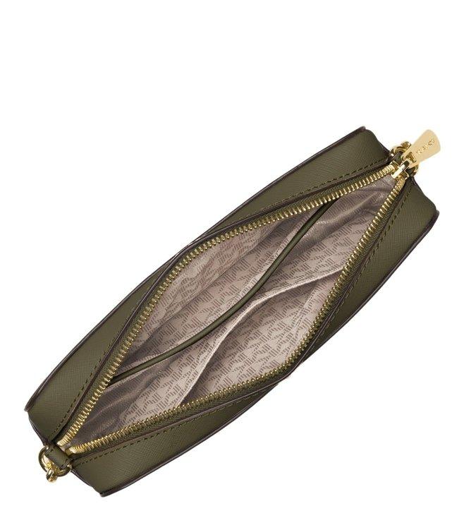 7999495dcfb1 Buy Michael Michael Kors Jet Set Travel Olive Crossbody Bag for ...