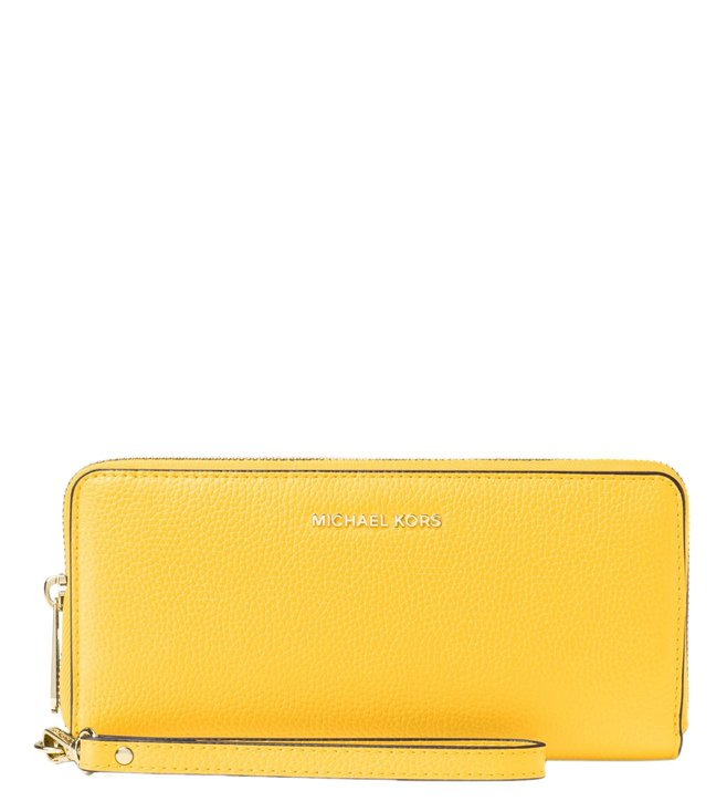 4f3314665937 Buy Michael Michael Kors Mercer Sunflower Small Wristlet for Women ...