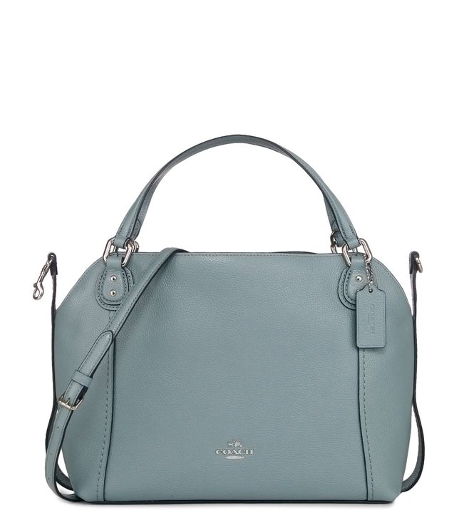 45361b6a54a2 Buy Coach Edie 28 Silver Cloud Pebble Leather Shoulder Bag for Women ...