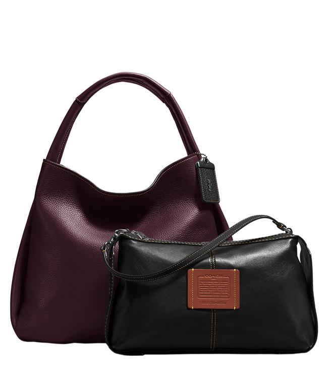 f8e6b5b822 Buy Coach 1941 Bandit Oxblood Glovetanned Hobo Bag for Women Online ...