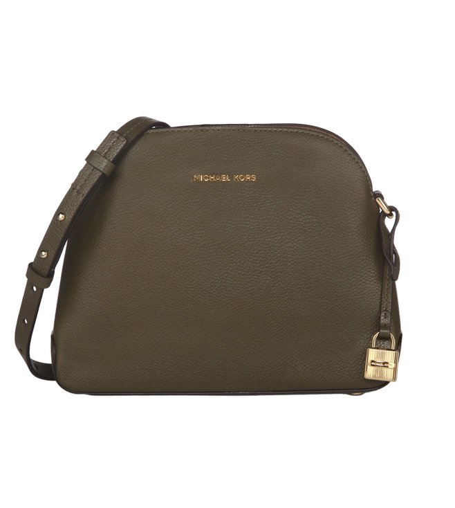 7320ae0c4912cf Added to Bag. Michael Michael Kors Mercer Olive Medium Dome Crossbody bag