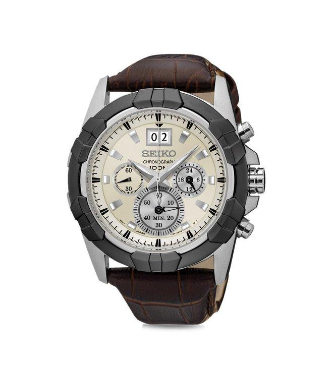 Seiko SPC196P1 Lord Analog White Dial Men's Watch (SPC196P1)