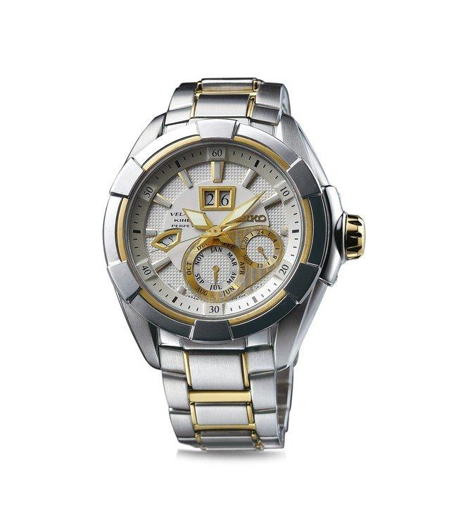 Seiko SNP100P1 Analogue Silver Dial Men's Watch (SNP100P1)