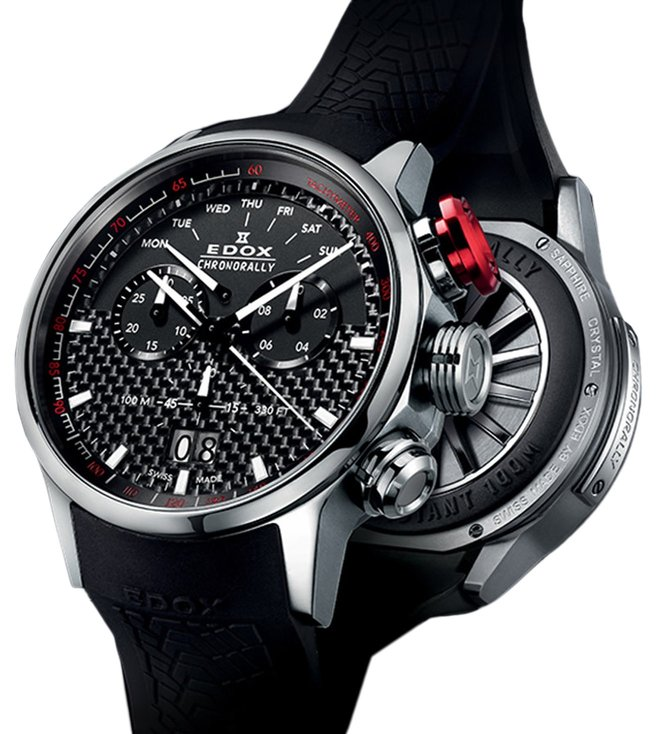 Buy Edox 38001 TIN NIN Chronorally Analog Watch for Men at Best ... f9a55ada86d