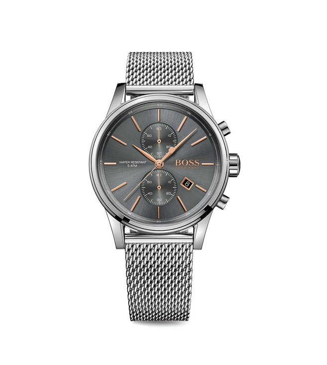 e54ce1e55 Hugo Boss 1513440 Charcoal Grey Analog Men's Watch Price in India, Offers &  Coupons | CKS-312-011165