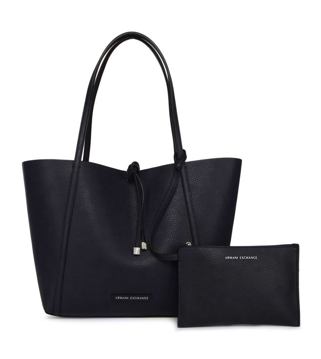 d768af11aadb Buy Armani Exchange Evening Blue Medium Reversible Tote Bag for ...