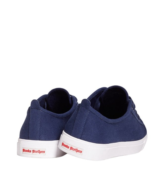 Brooks Brothers Red Fleece Navy Sneaker