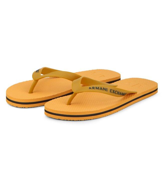 Armani Exchange Sunshine & Cypress Classic Flip-Flops