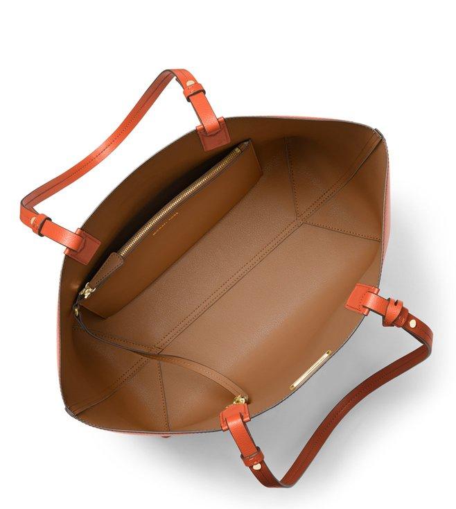 ec421b22b52f0e Buy Michael Michael Kors Cameron Orange-Acorn Reversible Totes for ...