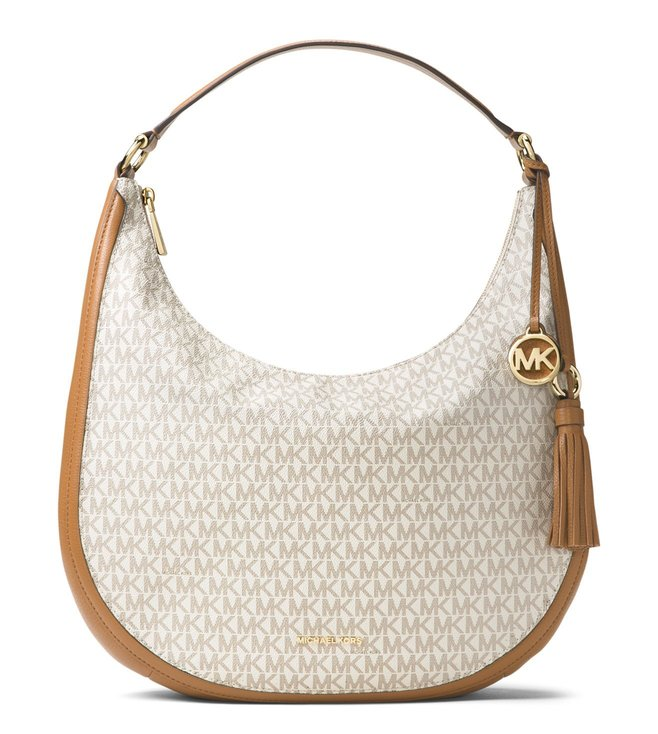 9d50f99d522d Buy Michael Michael Kors Vanilla Lydia Large Shoulder Bag for Women ...