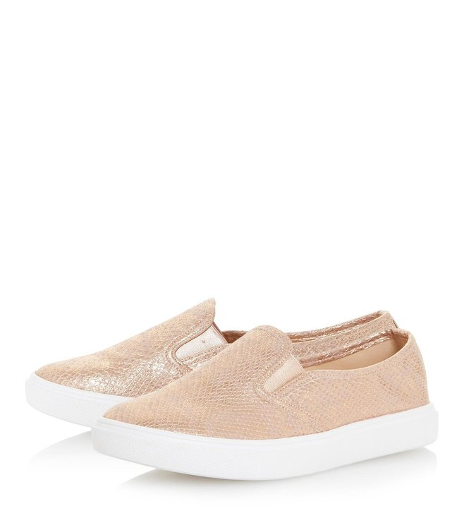 Buy Dune London Rose Gold Elsaa Sneaker
