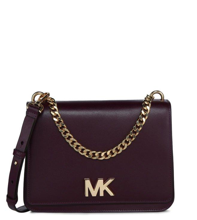 90aa8a2afd78 Buy MICHAEL Michael Kors Mulberry Mott Large Shoulder Bag for Women ...