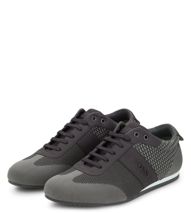 Boss Green Grey Lighter Lowp Sykn Sneaker