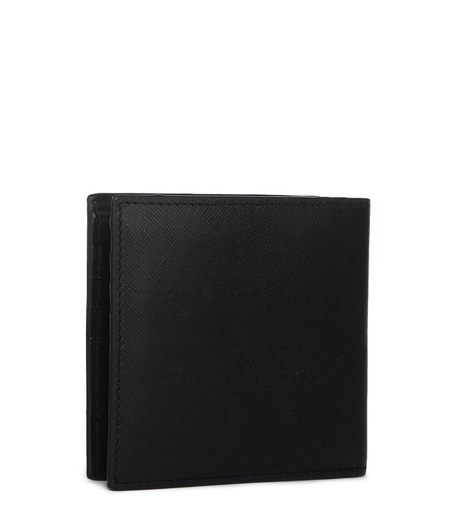 Buy Armani Exchange Nero Billfold Wallet for Men Online   Tata CLiQ Luxury a862157578858