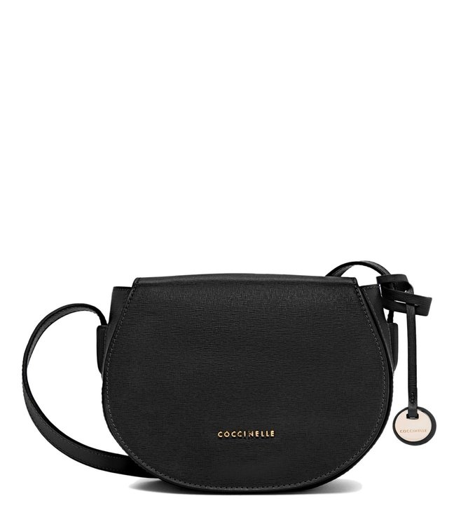 super cheap where to buy purchase cheap Buy Coccinelle Noir Clementine Crossbody Bag for Women ...