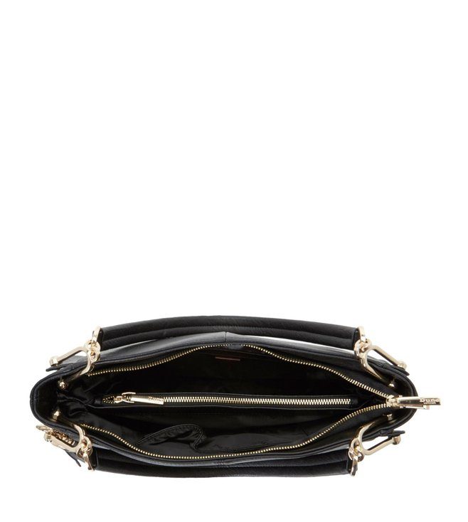 Buy Dune London Black Large Disobelle Shoulder Bag for Women Online ... a4d826f88d599