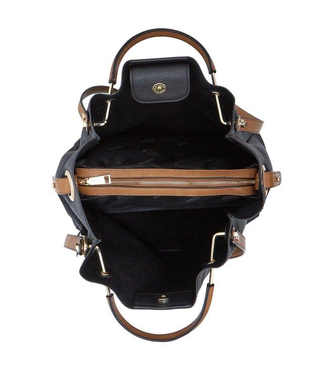 Buy Dune London Black Synthetic Large Daura Shoulder Bag for Women ... 7b383ed3f2
